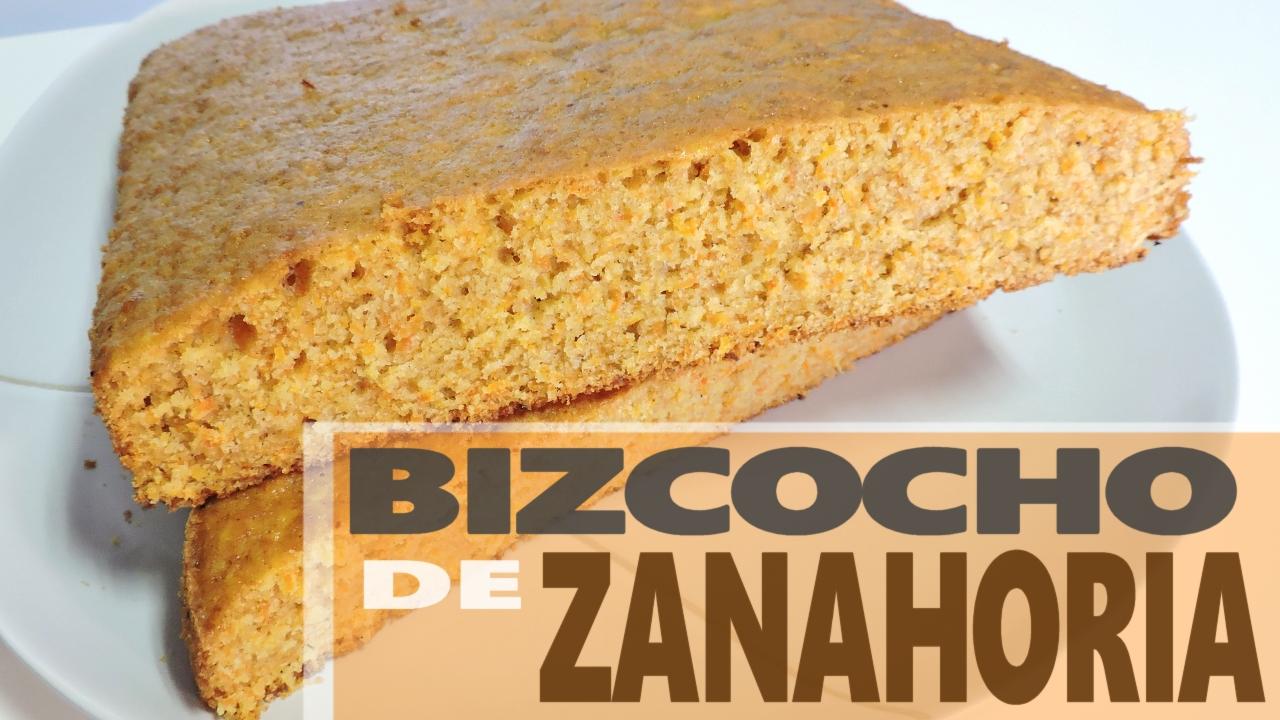 Bizcocho de Zanahoria (apto para intolerantes a la lactosa)