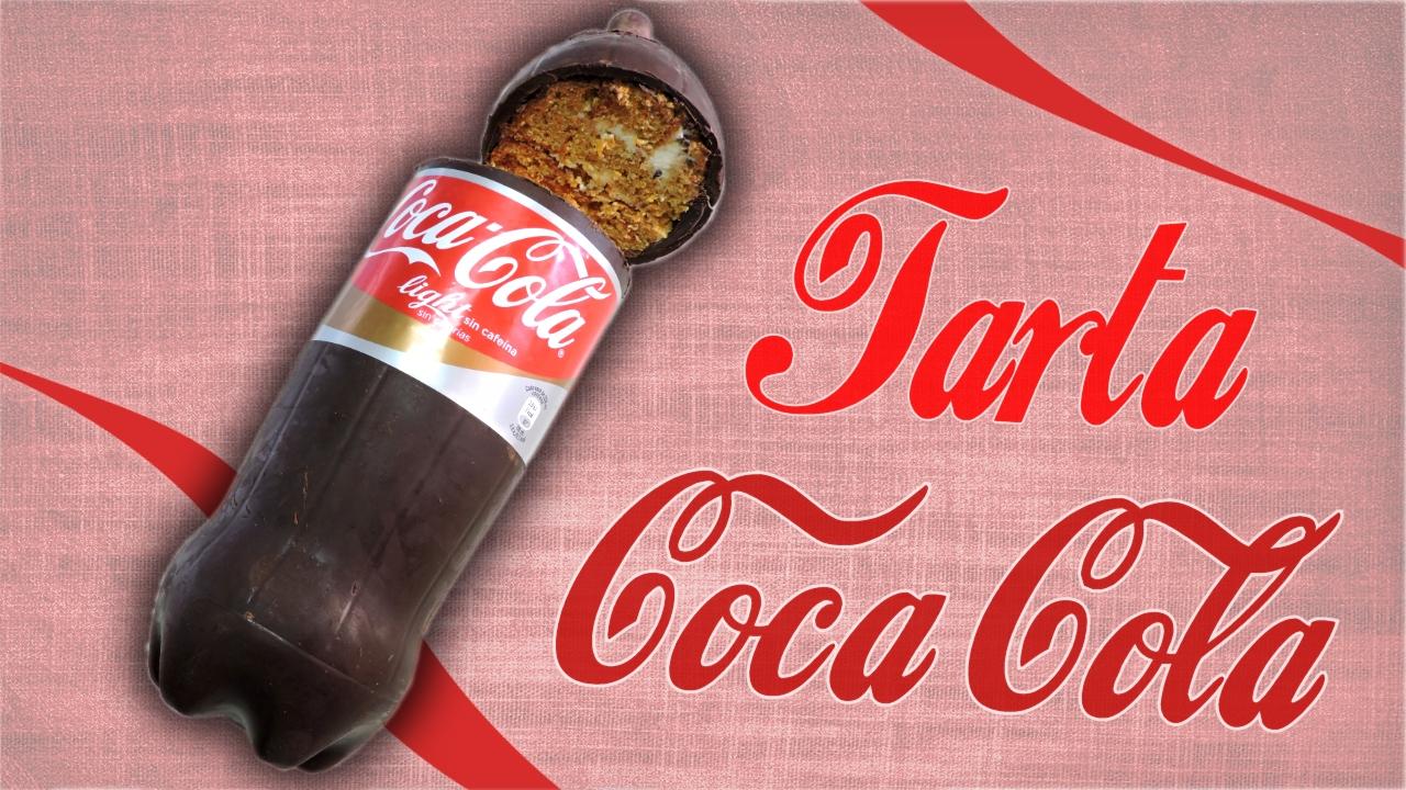 Tarta con forma de Coca-Cola