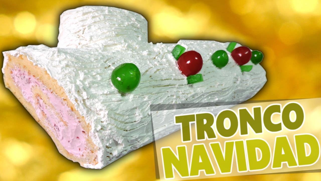 Tronco de Navidad (apto para alérgicos e intolerantes a leche y lactosa)