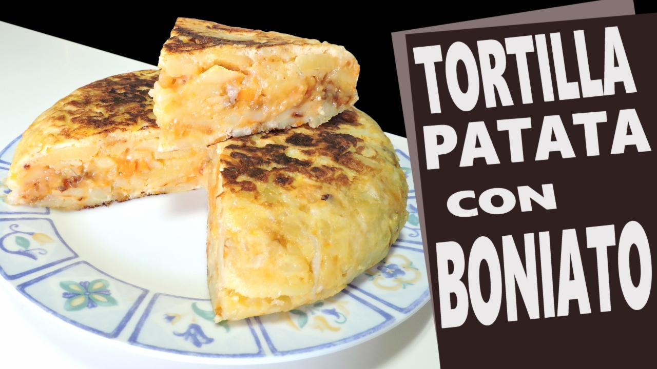 Tortilla de Patata con Boniato