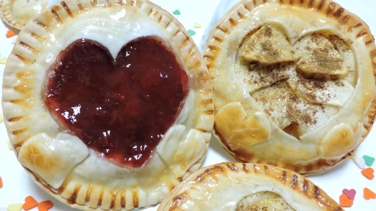 Empanadillas Dulces para San Valentín