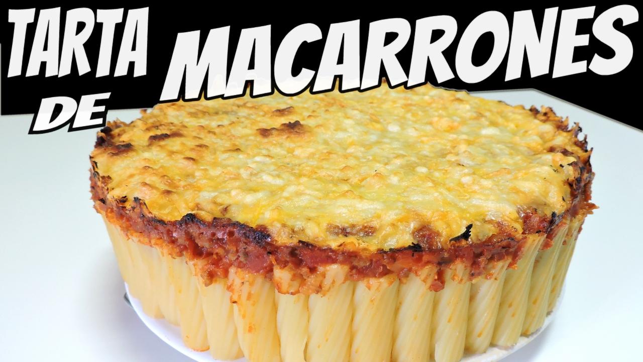 Tarta de Macarrones