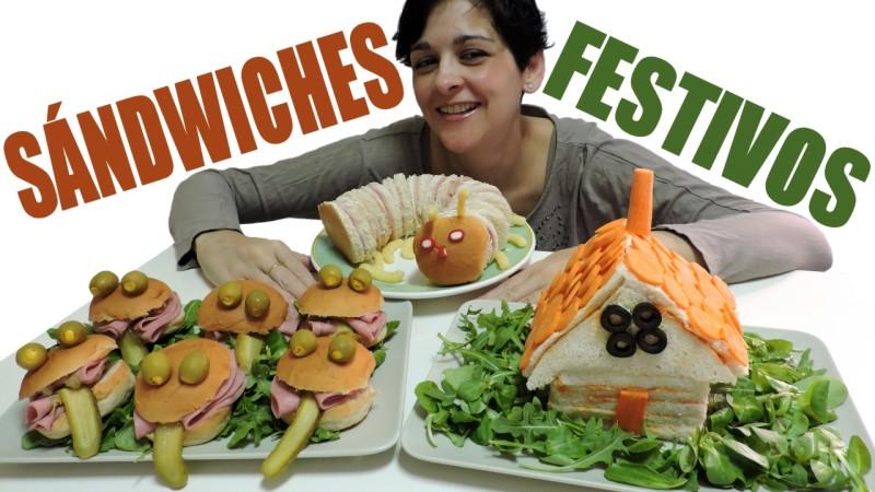 Sándwiches festivos