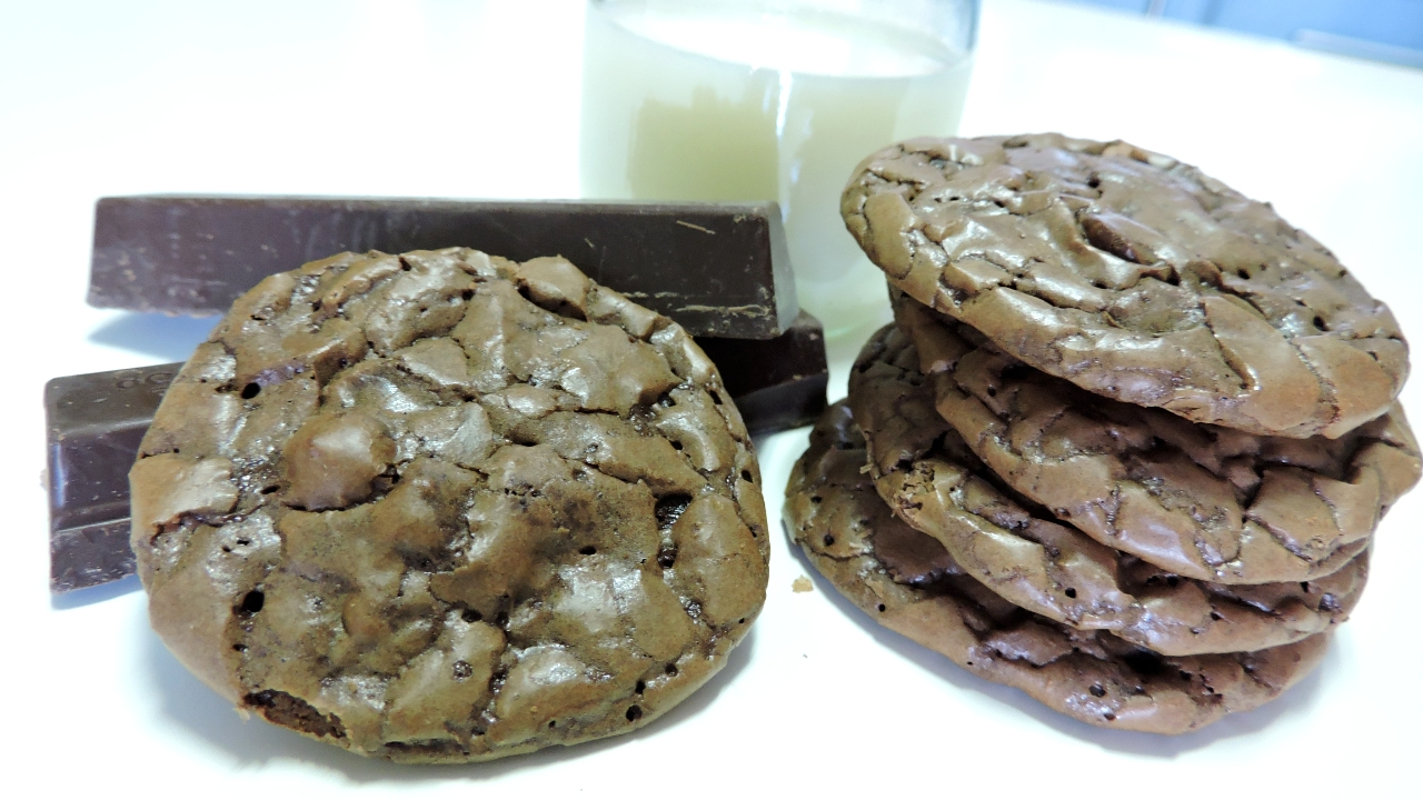 Brownie Cookies (galletas con mucho chocolate)