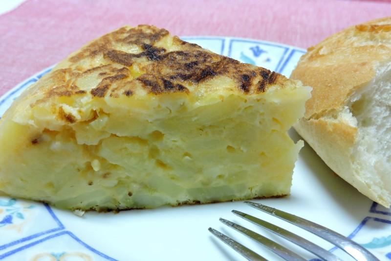 TORTILLA DE PATATAS (Tortilla española o Tortilla de papas)