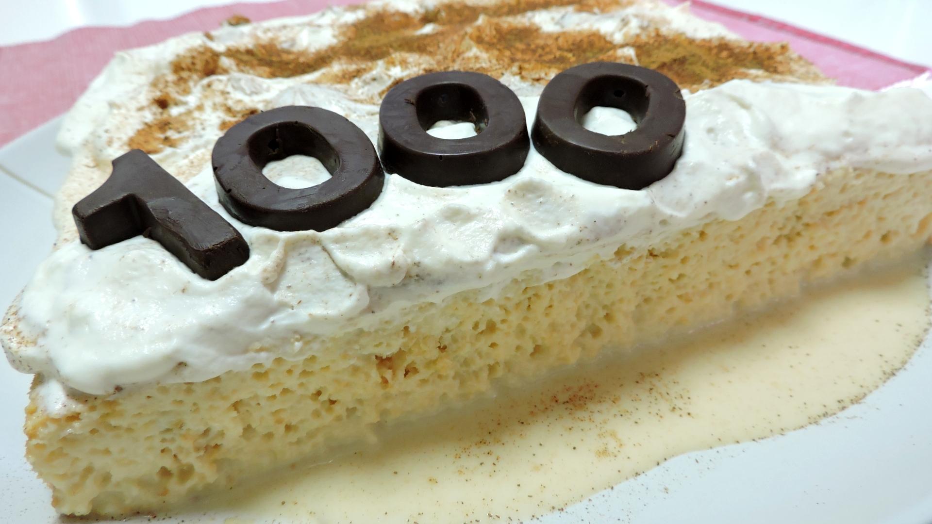 Pastel de Tres Leches (tarta o torta tres leches)