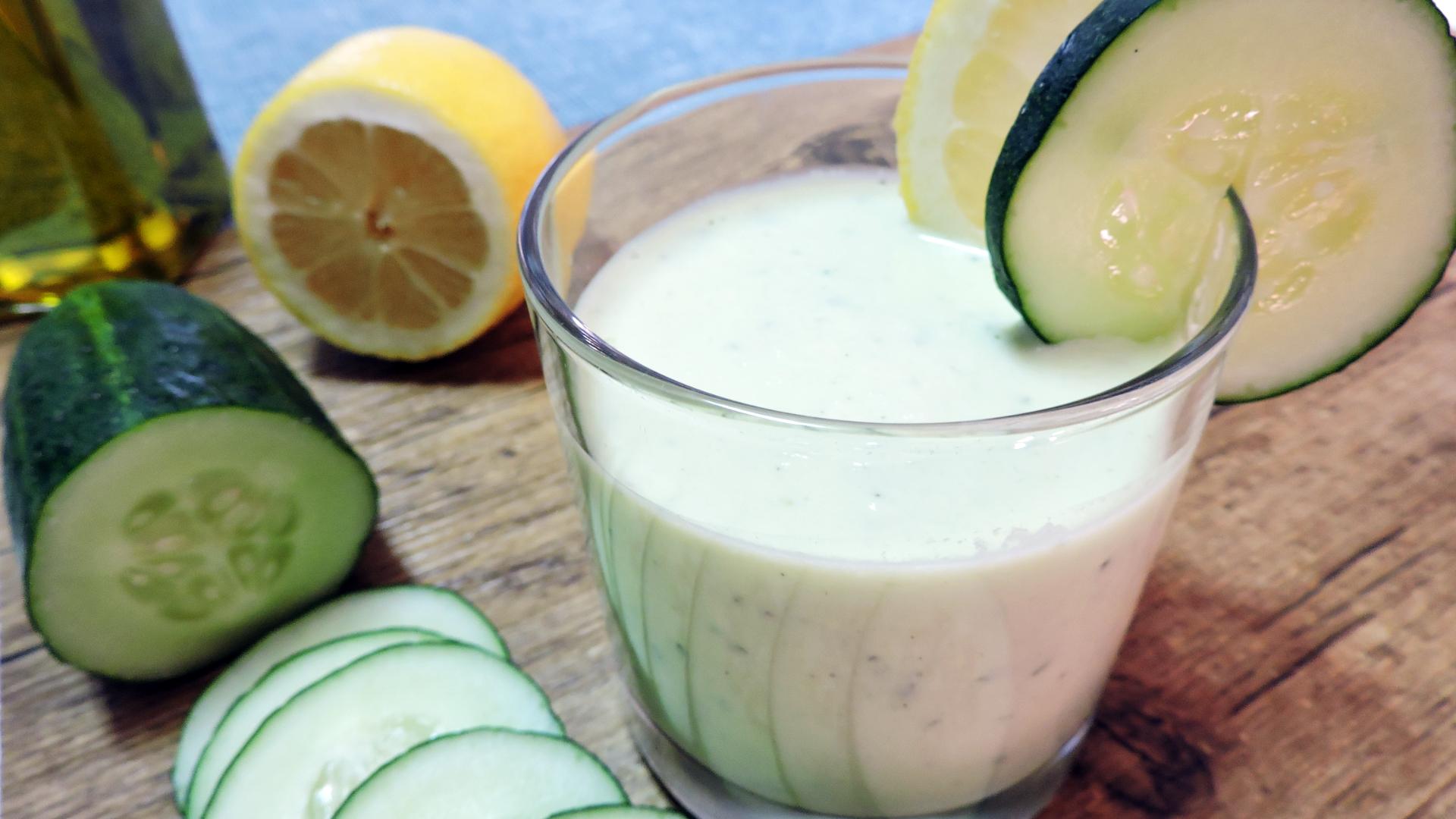 Crema fría de Pepino