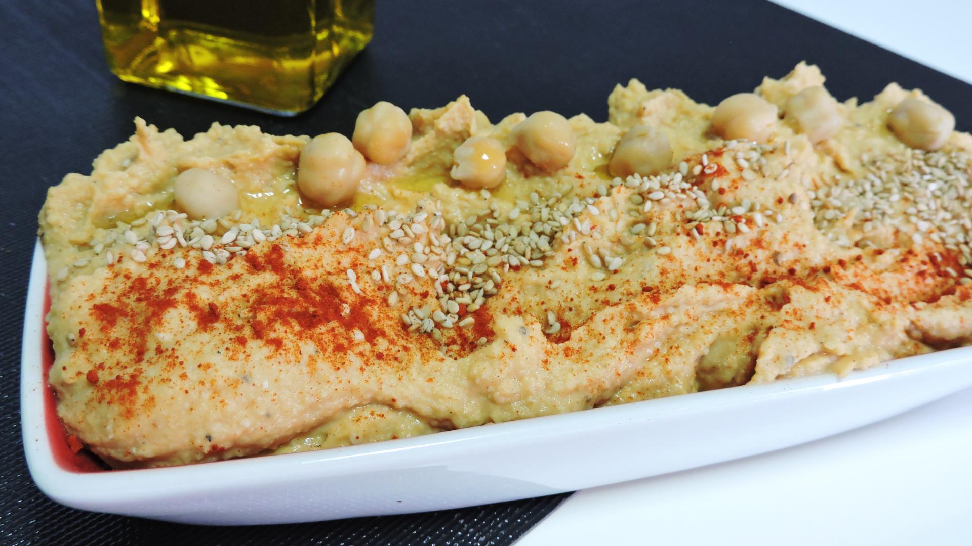 Hummus casero (receta saludable)