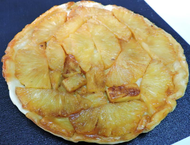TATIN de PIÑA (tarta tatin fácil)