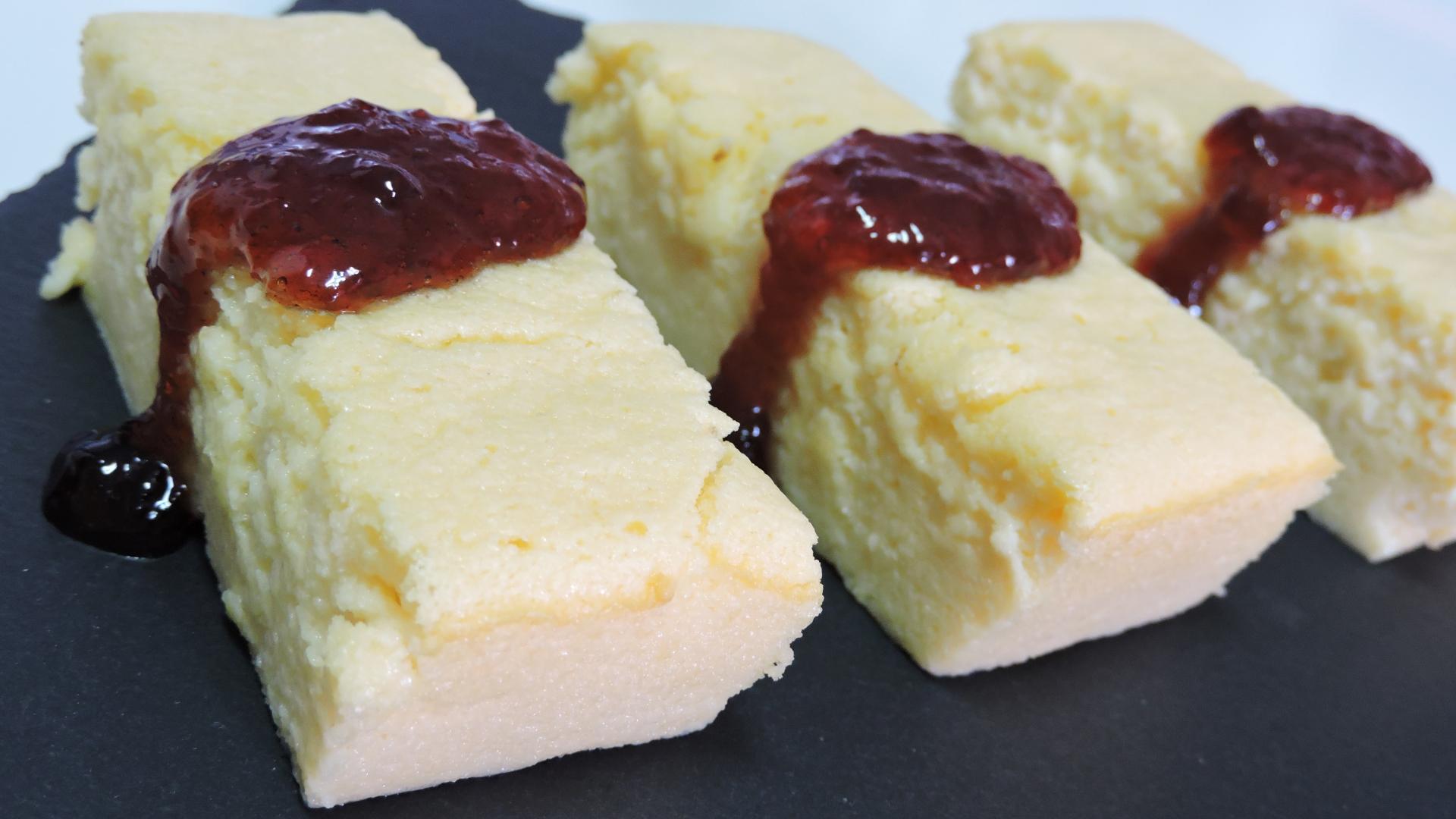 PASTEL de QUESO JAPONÉS (con Chocolate blanco)