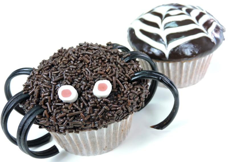Cupcakes Araña (Receta para Halloween)