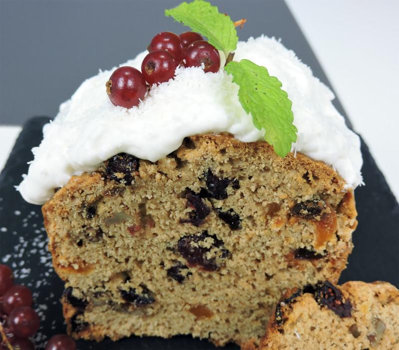 Bizcocho navideño (o plum cake de frutas)