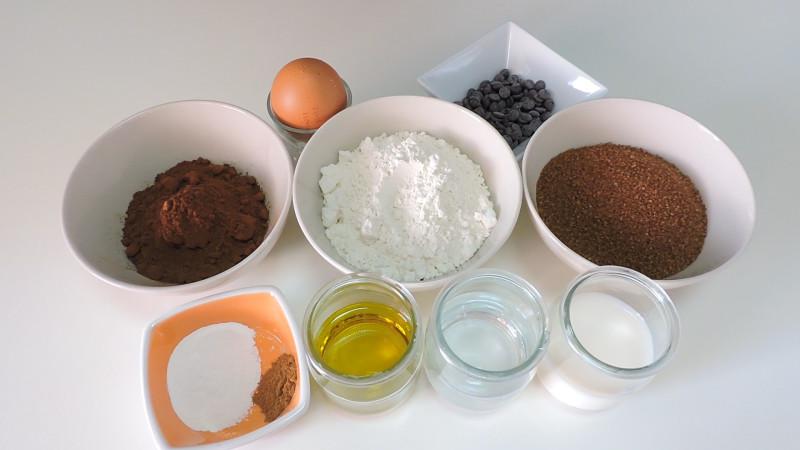 Ingredientes para elaborar los cupcakes