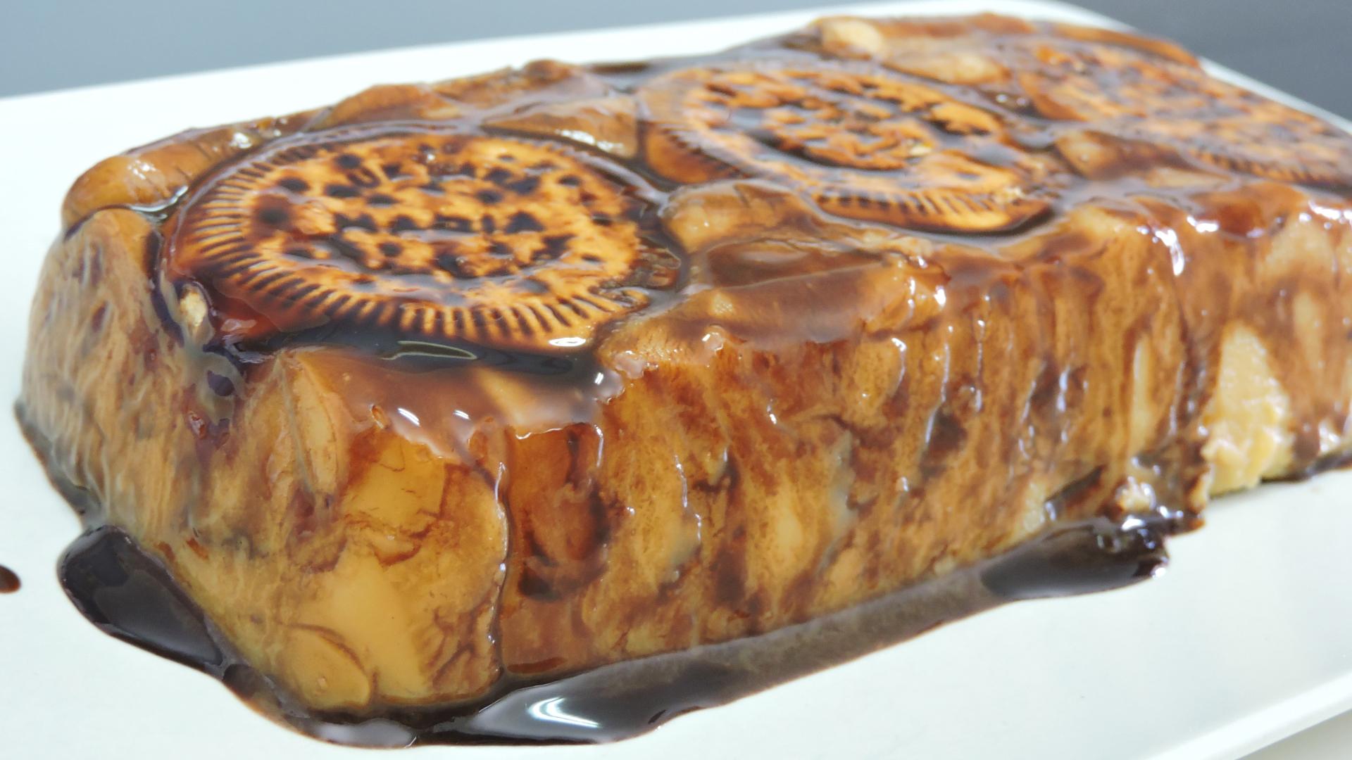 Pudin de galletas o Budín (receta sin horno)