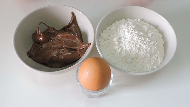 Ingredientes para las Nutellotti