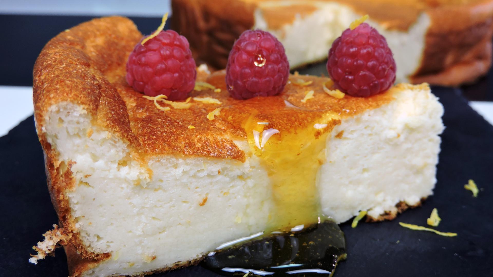 Tarta de yogur o Pastel turco de yogur