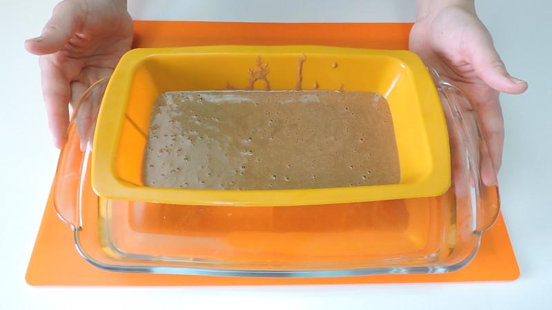 Pastel antes de hornear