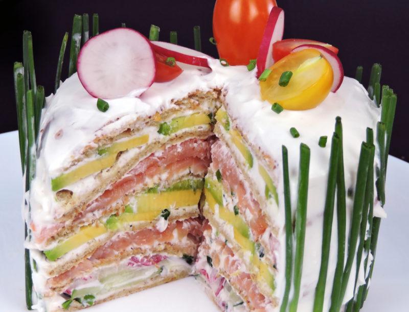 Pastel de sándwich