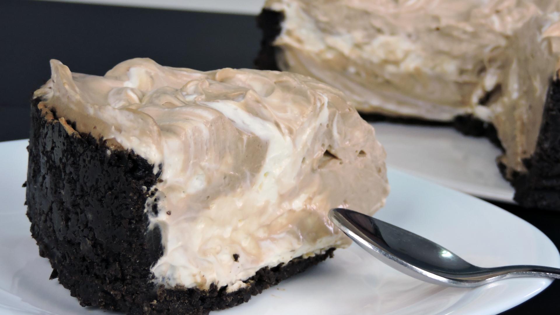 Tarta de queso con Nutella y Oreo (cheesecake sin horno)