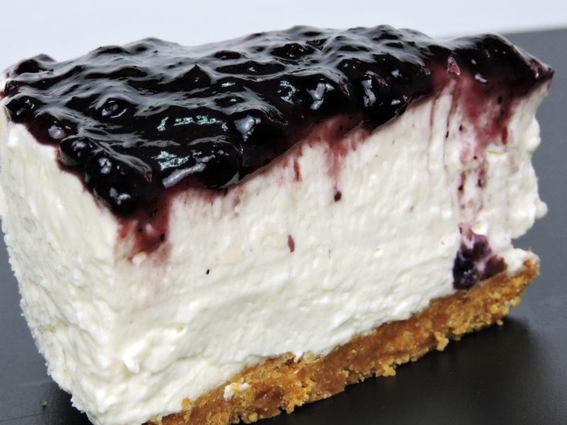 Tarta de queso con chocolate blanco / Cheesecake con chocolate blanco