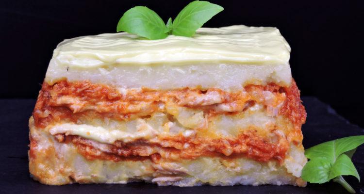 Pastel de patata y atún (sin horno)