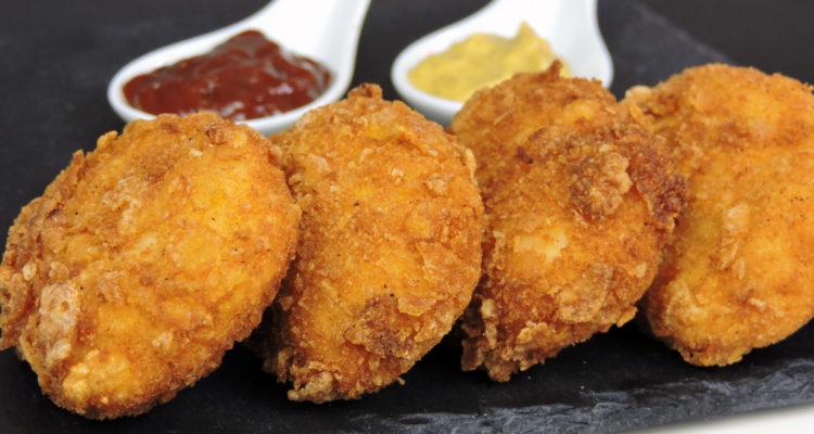 Nuggets de pollo (fáciles y super-crujientes)
