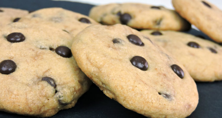 Galletas con chocolate (chocolate cookies)