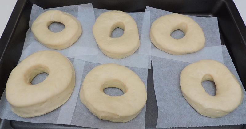 Donuts tras media hora de reposo