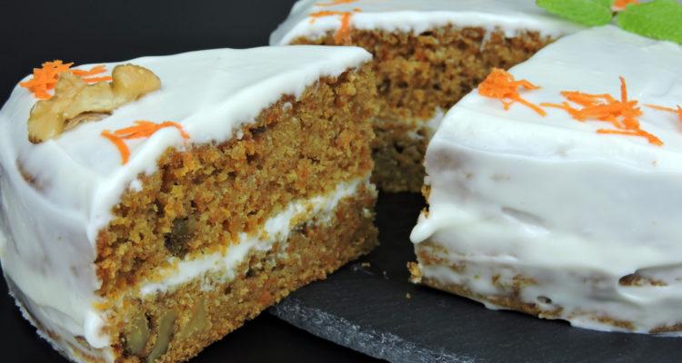 Receta de tarta de zanahoria fácil