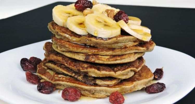 Tortitas de plátano (receta sin azúcar)