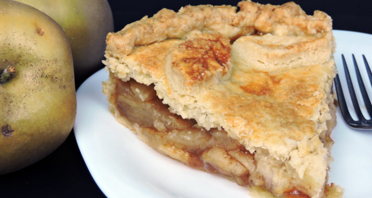 Receta de tarta de manzana (apple pie)