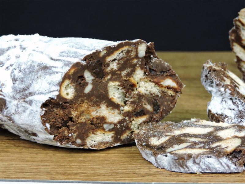 Salami de chocolate
