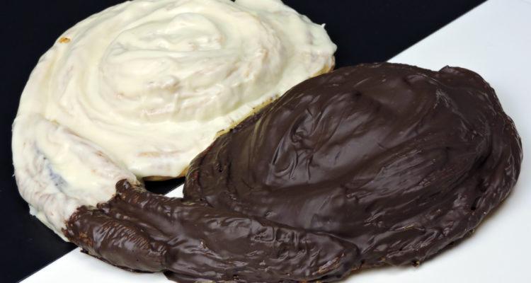 Palmera gigante de hojaldre y chocolate