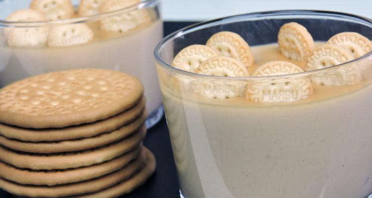 Crema de galletas María