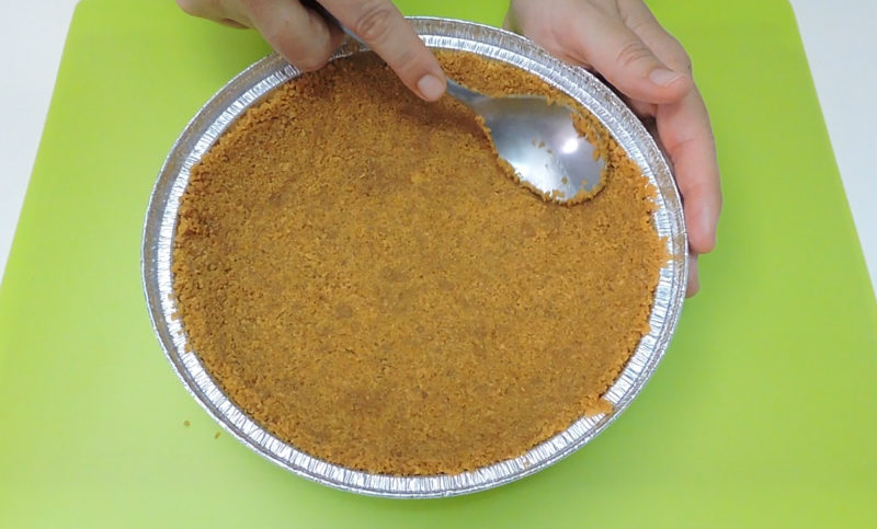 Formando la base del pastel