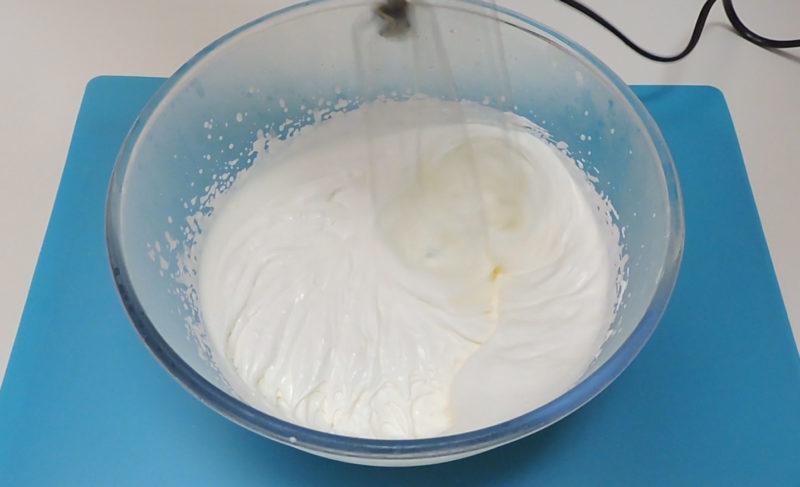 Montando la nata