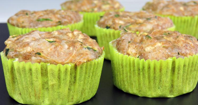 Magdalenas saladas (de calabacín y queso)