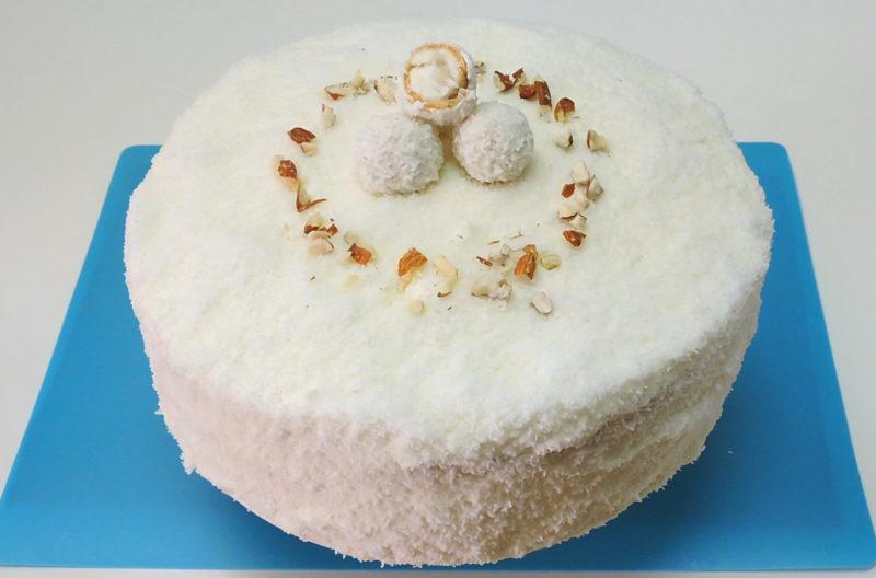 Tarta de coco y almendra (estilo bombones Raffaello)