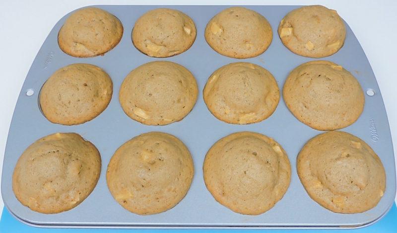 Muffins recién horneados