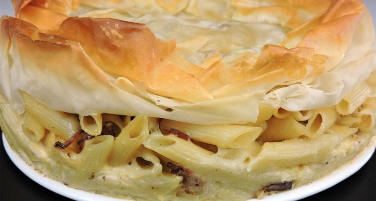 Tarta Carbonara (receta fácil y deliciosa)