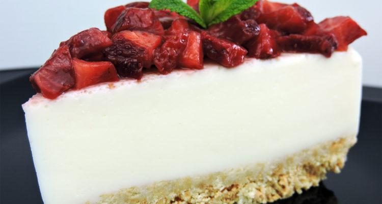 Tarta de Yogur (muy fácil y sin horno)