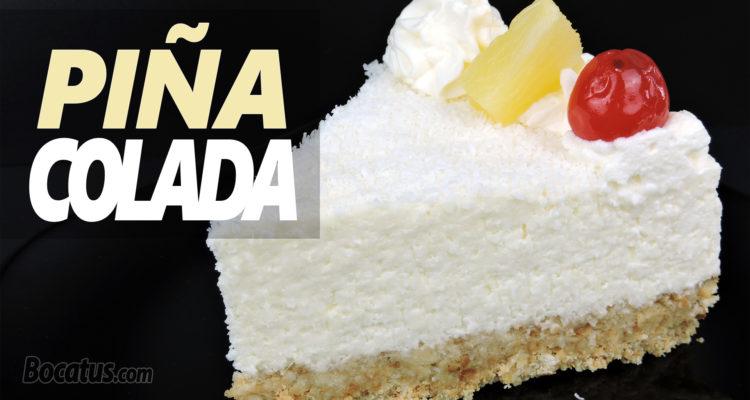 Tarta de Piña Colada (receta sin horno)