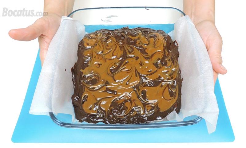Brownie antes de hornear