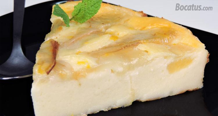 Tarta de Pera (fácil, rápida y sin gluten)