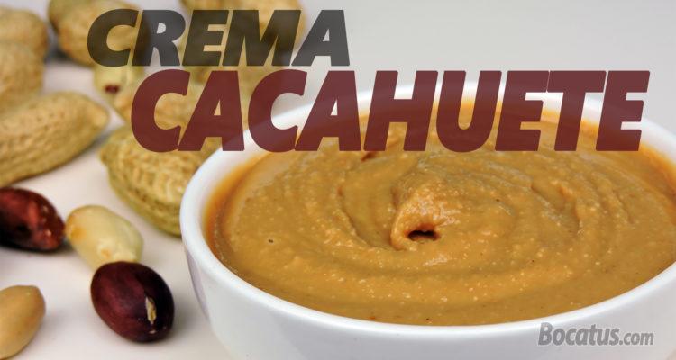 Cómo hacer CREMA de CACAHUETE casera (mantequilla de cacahuete o maní)