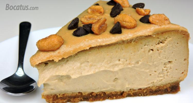 Tarta de Queso con Crema de Cacahuete… un cheesecake delicioso