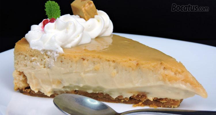 Tarta de Queso y Turrón (cheesecake de turrón)