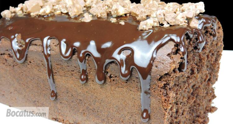 Bizcocho de turrón de Chocolate Suchard