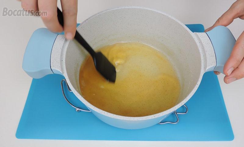 Almíbar de miel preparado