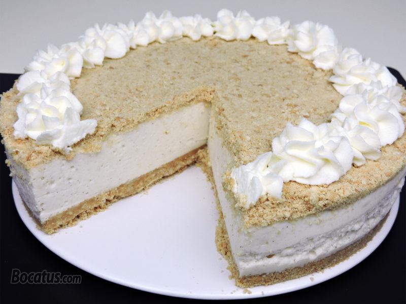 Tarta de Nata y Leche Condensada (tarta de nata portuguesa o serradura)